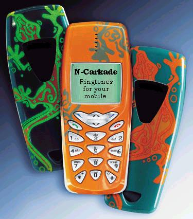 clik for the N-Carkade ringtones